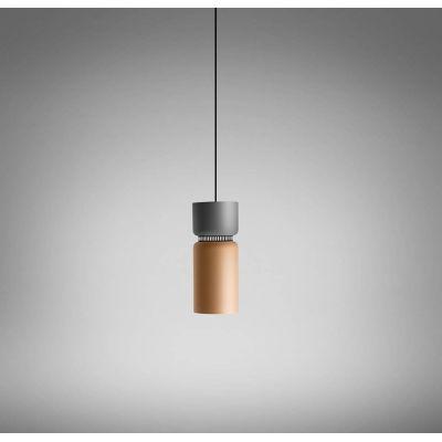 Aspen 17B Suspension Lamp Grey,Grey,Fluorescent