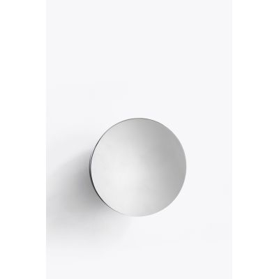 Aura Wall Mirror Stainless Steel, Large