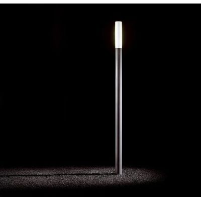 Ax-is Outdoor Lamp 280, Fluorescent, Bronze