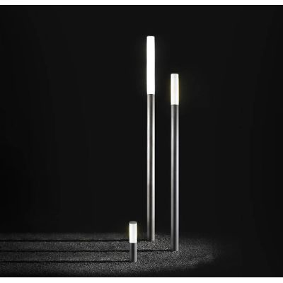 Ax-is Outdoor Lamp 60 60, Fluorescent, Bronze