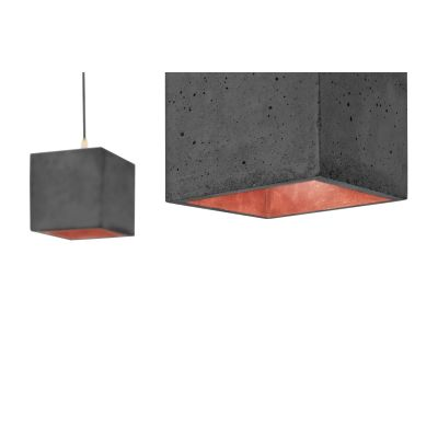 [B1] Pendant Light Dark Grey/Copper