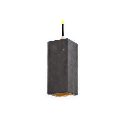 [B2] Pendant Light Dark Grey/Gold