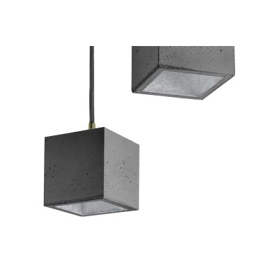 [B6] Pendant Light Dark Grey/Silver