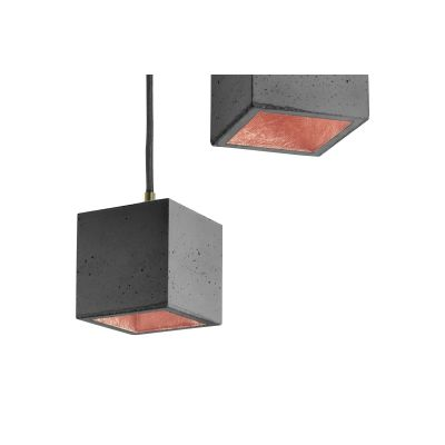 [B6] Pendant Light Dark Grey/Copper