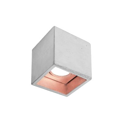[B7] Ceiling Light Light Grey/Copper
