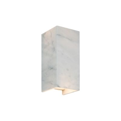 [B8] Marble Wall Light Carrara/24-karat Gold
