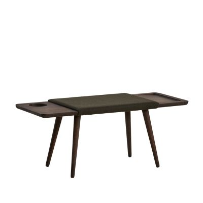 Baenk bench Smoked oak