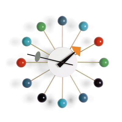 Ball Clock multicoloured