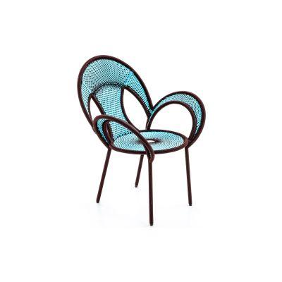 Banjooli Armchair Oxide / Turquoise