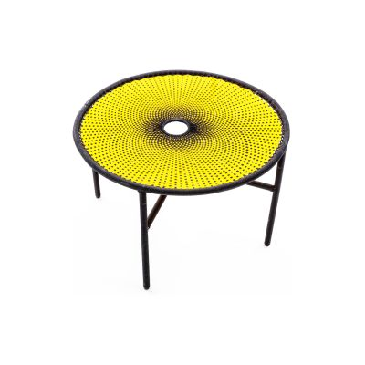 Banjooli Coffee Table Yellow and Black, Large