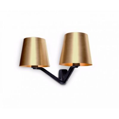 Base Wall Light Brass