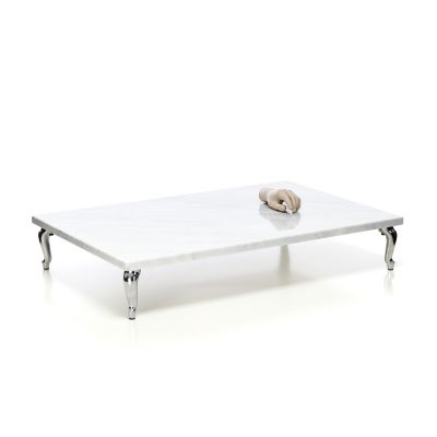 Bassotti Coffee Table - Rectangular Graphite, Low, 108 x 72 cm