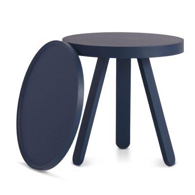 Batea S - Tray table Blue
