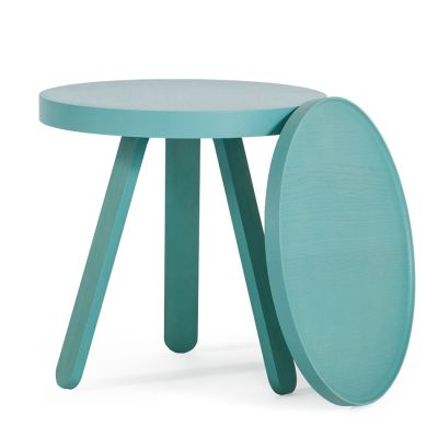 Batea S - Tray table Green