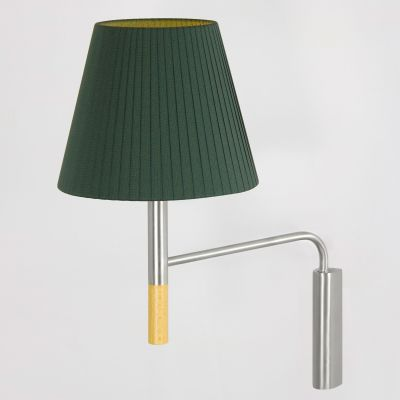 BC3 Wall Lamp Green Raw Color ribbon