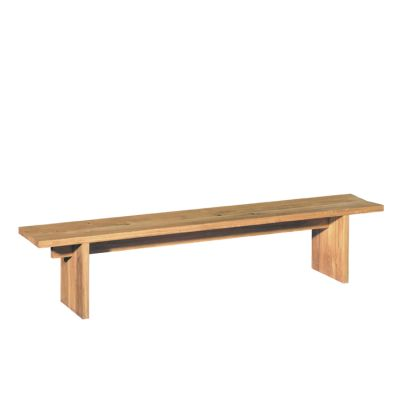 BE02 Taro Bench Walnut, 300 cm