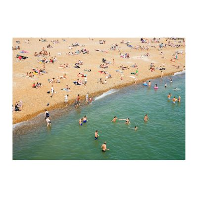 Beach #01 Print 18cm x 25cm, Framed