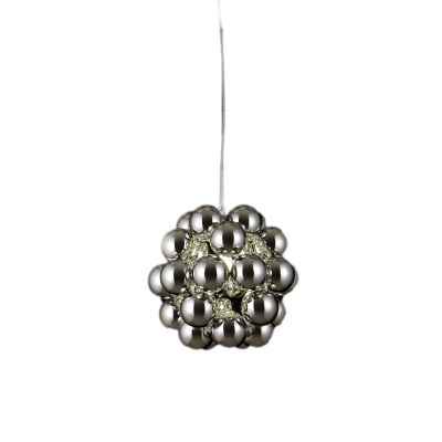 Beads Penta Pendant Light Silver