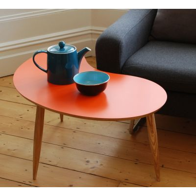 Bean Coffee Table Bean Table in Orange