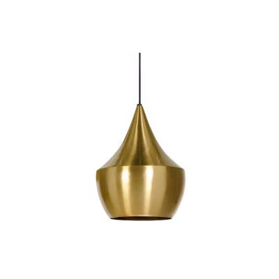 Beat Fat Pendant Light Brushed-Brass