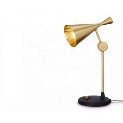 Beat Table Lamp Brass
