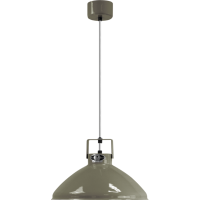 Beaumont B240 Pendant Gold, Khaki Gray, Gloss