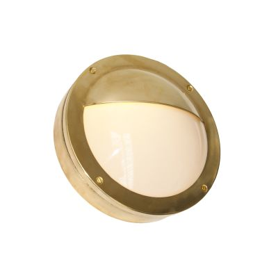 Begawan Semi-Flush Wall Light Satin Brass