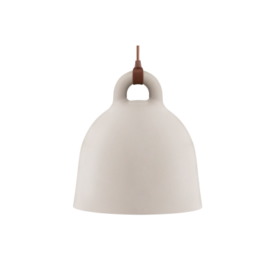 Bell Pendant Light - Ex display Sand, X-Small
