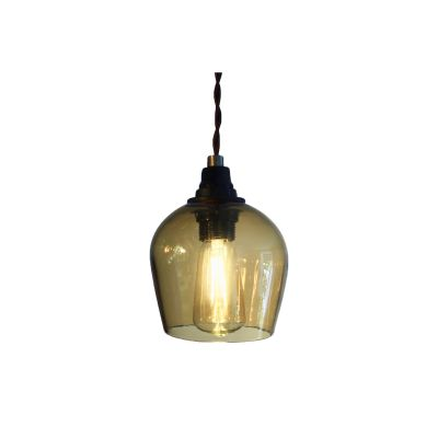 Bell Pendant Light Honey, 8.5cm