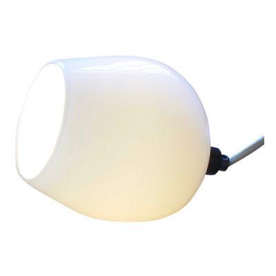 Bell Push Table Lamp White
