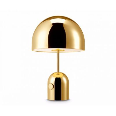 Bell Table Lamp Brass