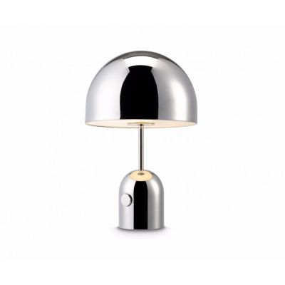 Bell Table Lamp Chrome