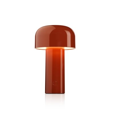 Bellhop Battery Table Lamp Brick Red