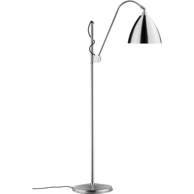 Bestlite BL3 Floor Lamp - Medium Chrome / Chrome