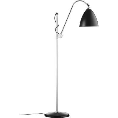 Bestlite BL3 Floor Lamp - Medium Black / Chrome