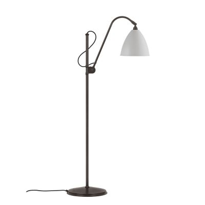 Bestlite BL3 Floor Lamp - Medium Classic White / Black Brass