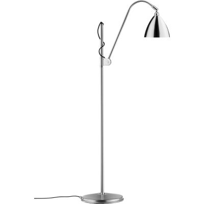 Bestlite BL3 Floor Lamp - Small Chrome / Chrome