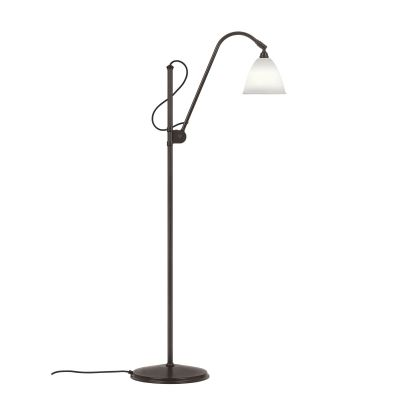 Bestlite BL3 Floor Lamp - Small Bone China / Black Brass