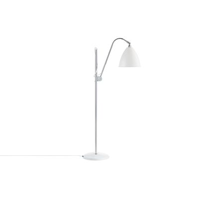 Bestlite BL3M Floor Lamp Matt White and Chrome
