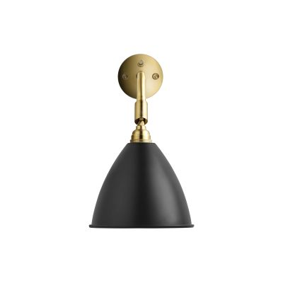Bestlite BL7 Wall Light Charcoal Black / Brass