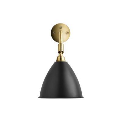 Bestlite BL7 Wall Light Charcoal Black / Brass