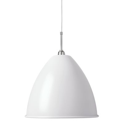 Bestlite BL9 Large Pendant Lamp Matt White/Chrome