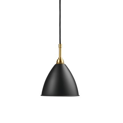 Bestlite BL9 Small Pendant Lamp Charcoal Black / Brass
