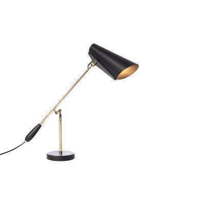 Birdy Table Lamp Black/Brass