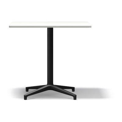 Bistro Rectangular table, Indoor Package of 10 basic dark melamine white