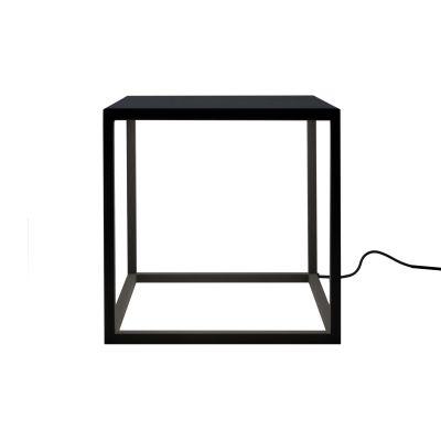 BlancoWhite C1 Square Table Lamp Graphite