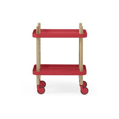 Block Side Table - Ex display Red