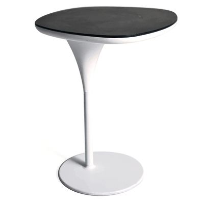Bloomy Side Table - New Traffic white, Stone Grey