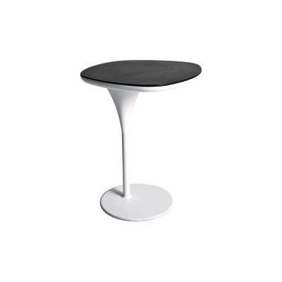 Bloomy Side Table Traffic white, Stone Grey