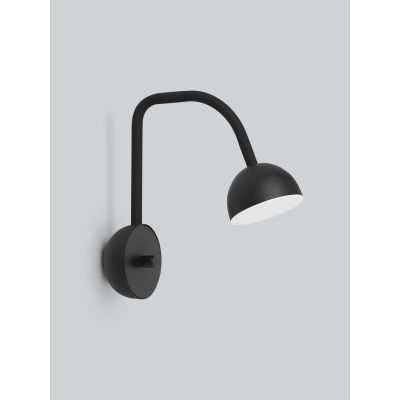 Blush Wall Light Black